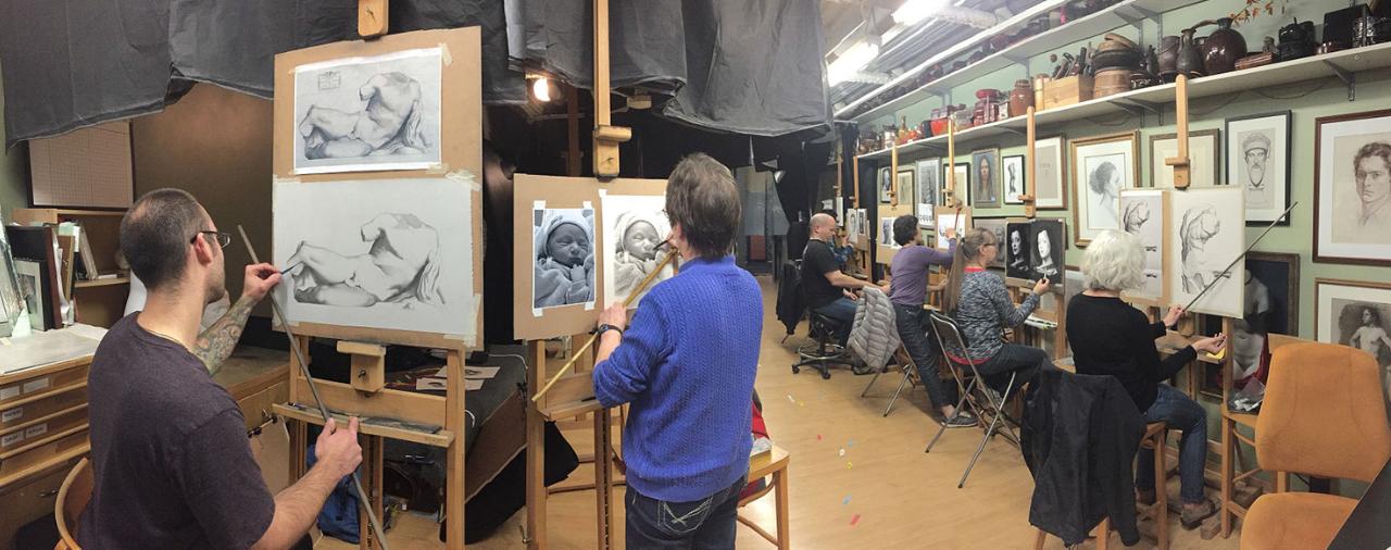mandy boursicot atelier open studio
